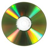 CD Disc Format Royalty Free Stock Photography