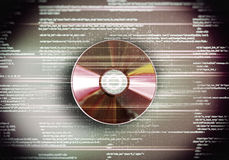 Cd disc Royalty Free Stock Photography
