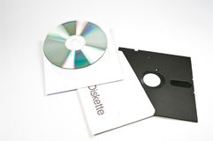 CD and disk Royalty Free Stock Image