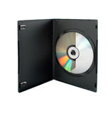 CD-disk in box Stock Image