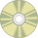 CD disk, CD ROM Stock Image