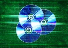 CD Diskette Stockbild