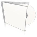 cd diskettwhite för blankt fall arkivbilder