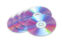 Cd disks Stock Photos