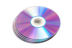 Cd disks Royalty Free Stock Photo