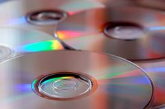 CD disks Royalty Free Stock Images