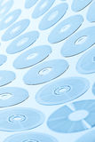 CD disks background Stock Image