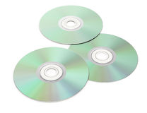 Cd disks Royalty Free Stock Photography