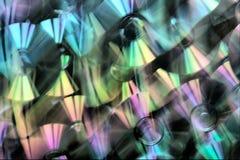 CD. Dispersion légère. Image libre de droits