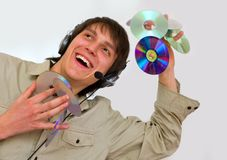 Cd dj Stock Images