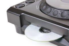 cd dj-spelare för kompakt disk Royaltyfri Foto