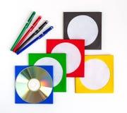 CD DO CD/DVD Foto de Stock