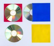 CD DO CD/DVD Imagens de Stock