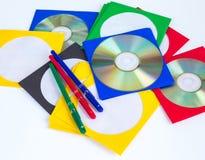CD DO CD/DVD Imagem de Stock Royalty Free