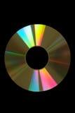 Cd do ouro Imagens de Stock