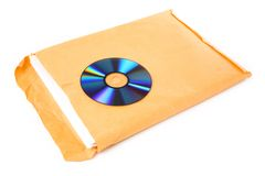 CD and document Royalty Free Stock Images