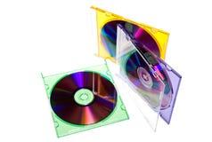 CD doos stock foto