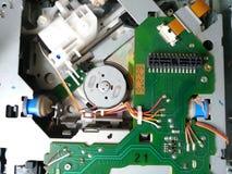 CD drev för billjudsignalsystem Arkivbilder