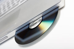 CD drive Royalty Free Stock Image