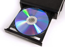 Cd drive Royalty Free Stock Images