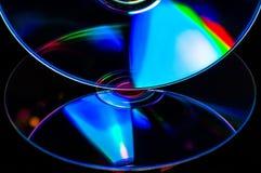 cd dubbel dvd fotografering för bildbyråer