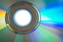 CD/DVD关闭  免版税库存照片