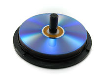 CD/DVD δίσκοι Στοκ φωτογραφίες με δικαίωμα ελεύθερης χρήσης