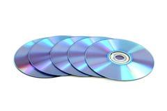 cd dvd диска Стоковое фото RF