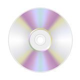Cd or dvd Stock Photography