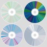 CD的dvd 免版税库存照片