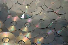 Cd and dvd Royalty Free Stock Photography