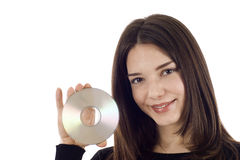 CD DVD Stockbild
