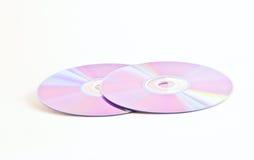 CD DVD Royalty-vrije Stock Afbeeldingen