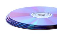 CD的dvd 库存图片