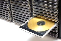 cd dvd Arkivbilder