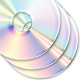 Cd, dvd. Stock Photos