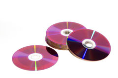 cd dvd Royaltyfri Foto