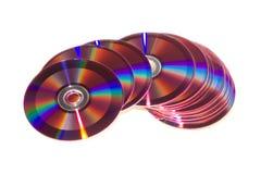 cd dvd Royaltyfria Bilder
