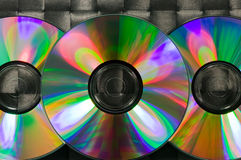 CD and DVD Royalty Free Stock Image