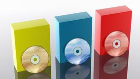 CD/DVD Stock Image