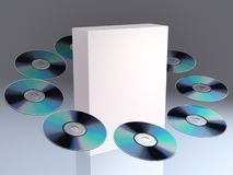 CD/DVD Royalty Free Stock Photos