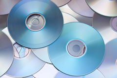 CD / DVD background Stock Images