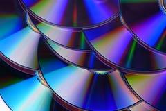 CD / DVD background stock photo