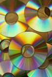 Cd and dvd stock image