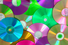 CD and DVD background Royalty Free Stock Photography