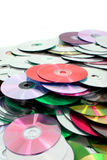cd and dvd background Royalty Free Stock Photo