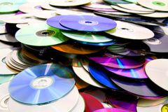 cd and dvd background Royalty Free Stock Image