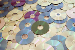CD-DVD Stock Photography