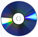 CD DVD BLU-RAY disk. Multimedia disc isolated on white background Royalty Free Stock Photography