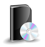 CD DVD box Stock Photography